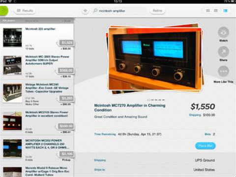 iPad users get a dedicated app for buying and selling on eBay