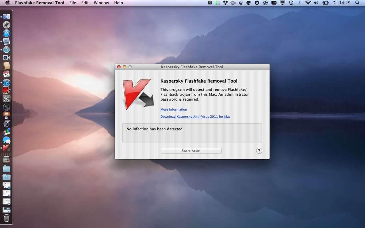 Essential downloads: Kaspersky Flashfake Removal Tool