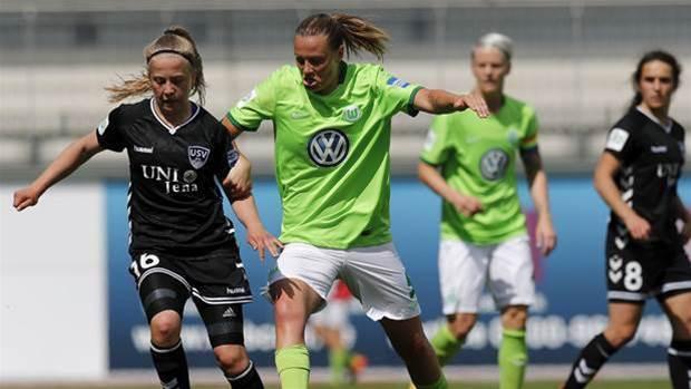 Matilda in German Cup triumph