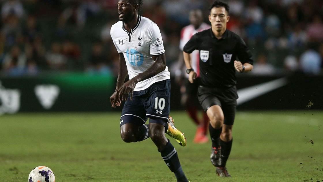 I never wanted to leave Tottenham, says Adebayor