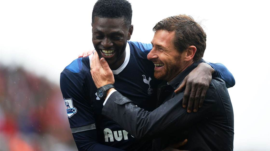 Villas-Boas tells Adebayor to train with reserves