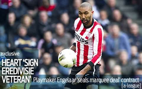 Heart sign Eredivisie veteran as marquee