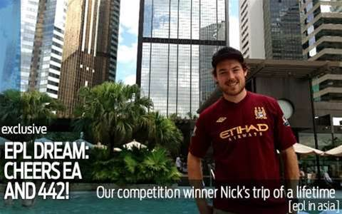 Competition winner Nick's trip of a lifetime