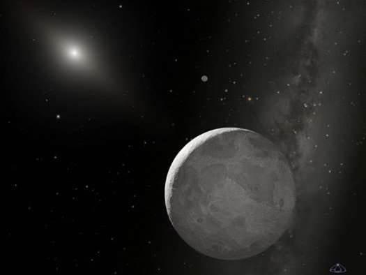 New Measurements Size Up Distant Dwarf Planet Eris As Pluto's Twin