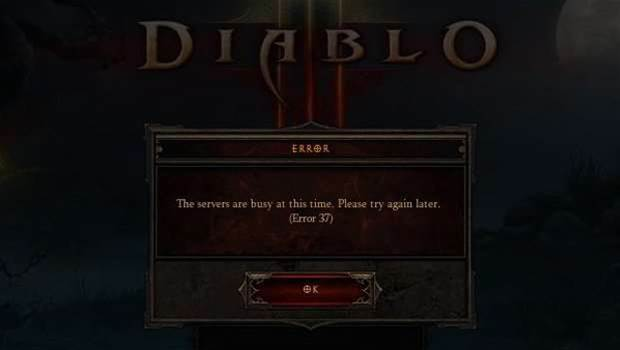 A rough launch for Diablo III, but the game is fun - when you can get in...