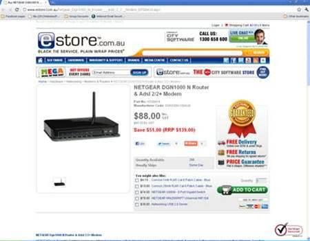 Tech Deals: eStore unloading Netgear wireless routers