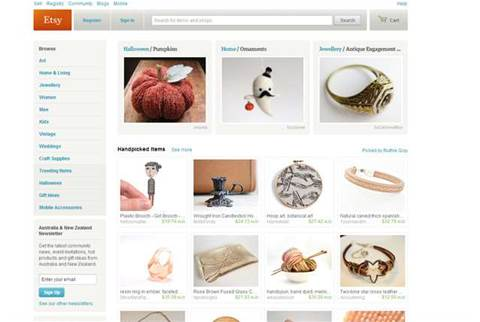 Craft site Etsy opens its doors wider