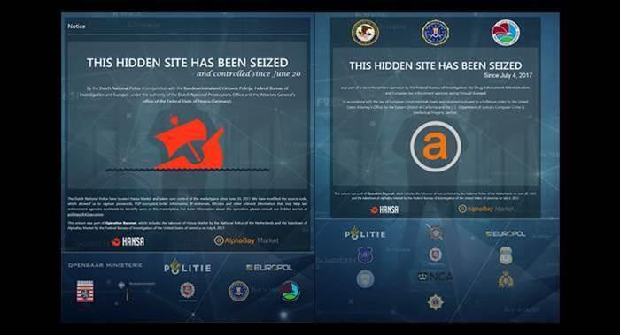 International operation takes down AlphaBay, Hansa dark web markets