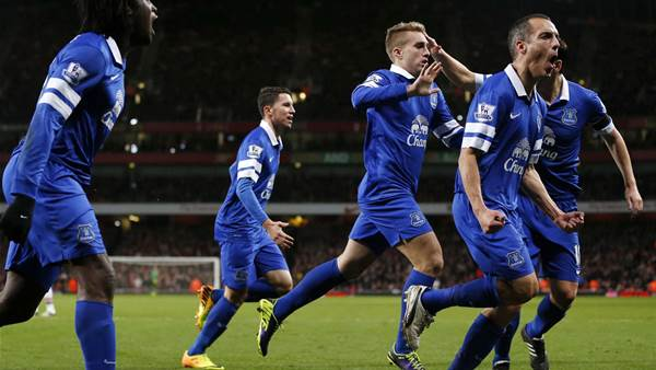 Everton boss delighted with Arsenal draw