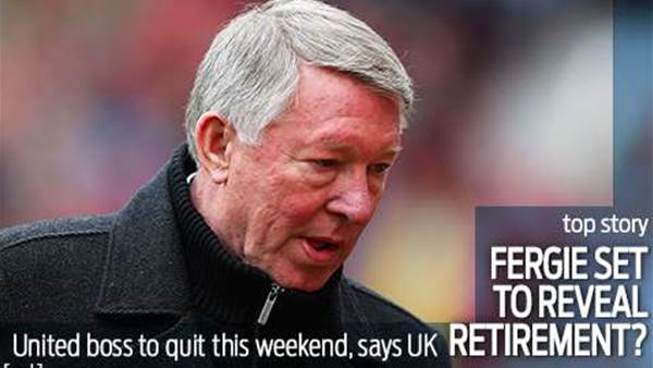 Ferguson to quit Old Trafford?