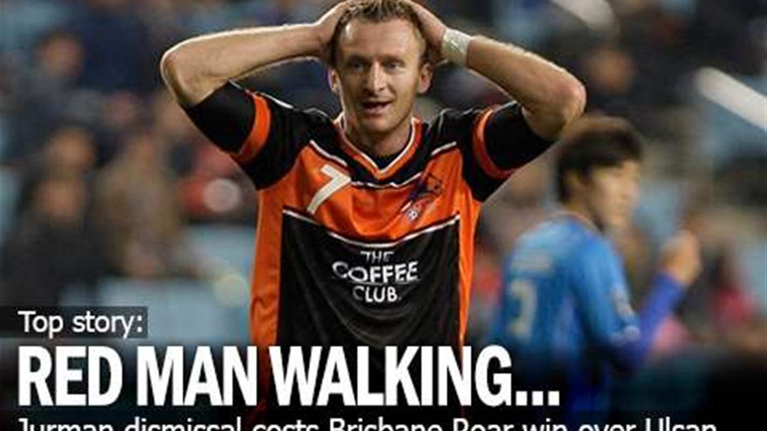 Red Card Costs Roar ACL Win