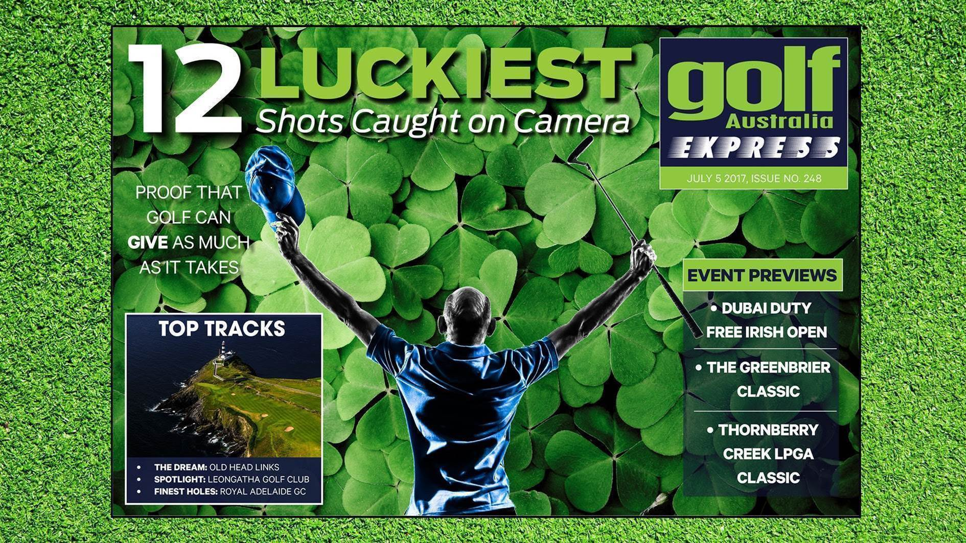 GA Express #248: The luck of the Irish