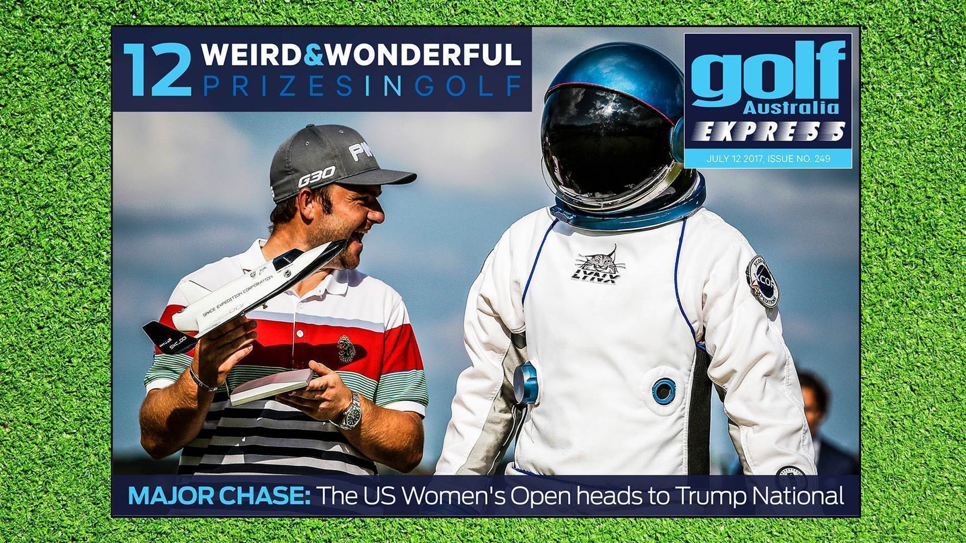 GA Express #249: Golf's weirdest & most wonderful prizes