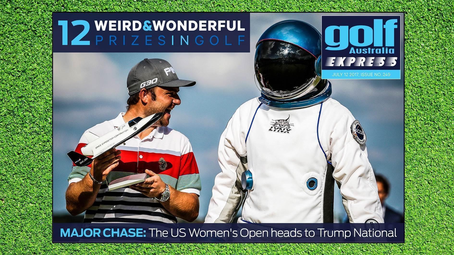 GA Express #249: Golf's weirdest & most wonderful prizes
