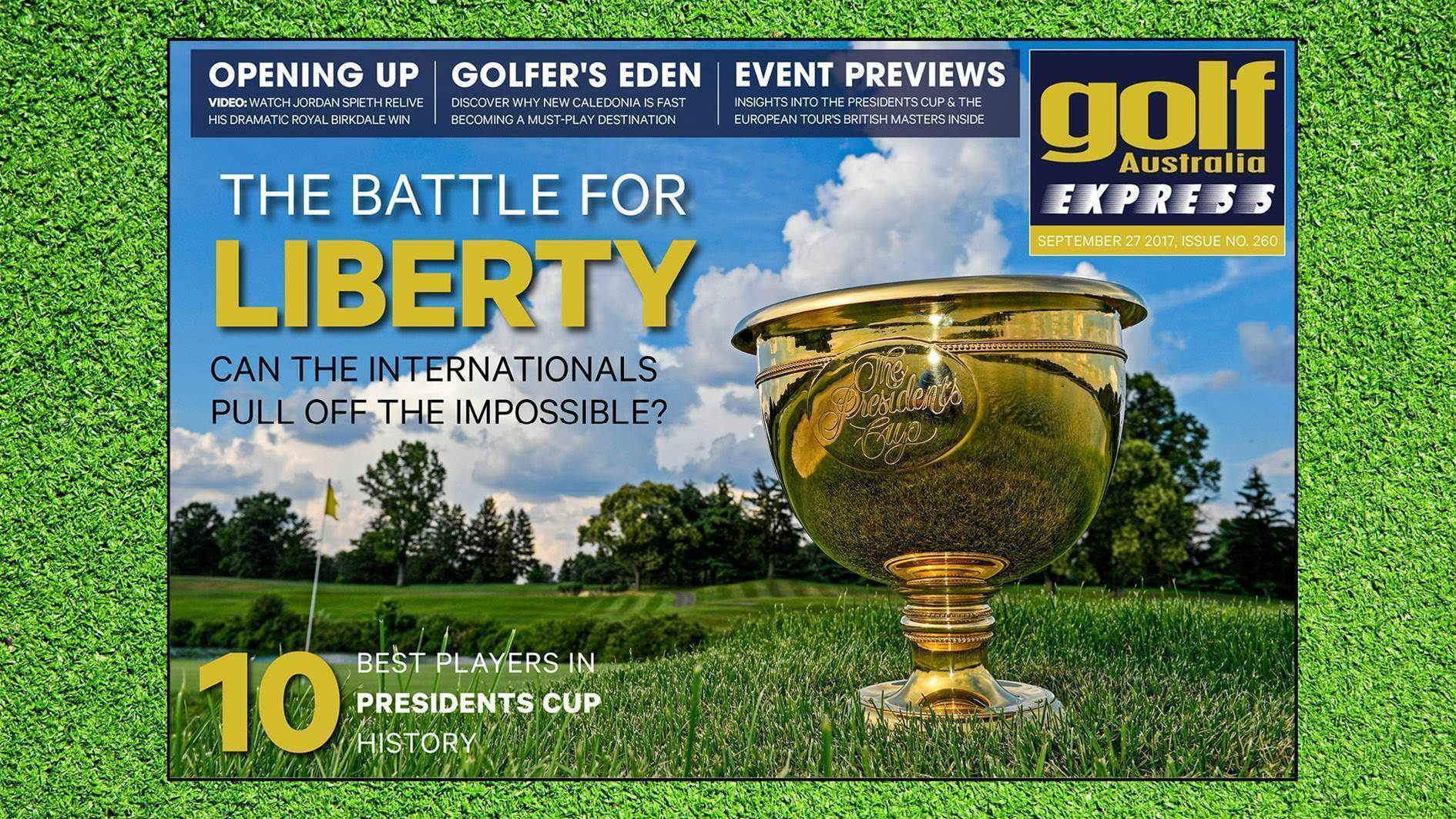 GA Express #260: Presidents Cup preview