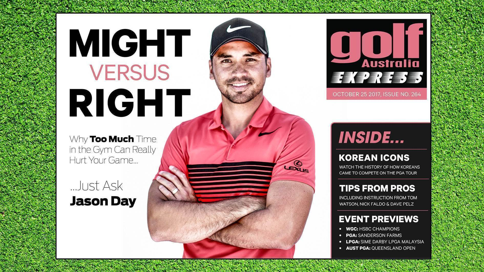 GA Express #264: Why pumping iron can hurt golf swings