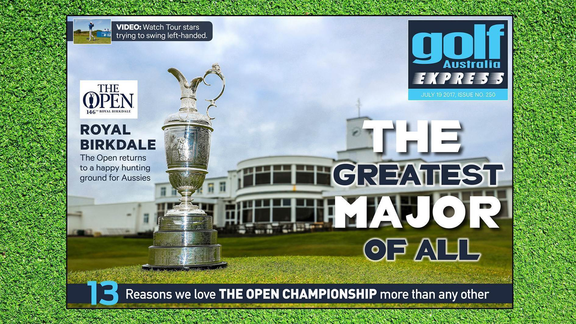 GA Express #250: The Open Preview Special