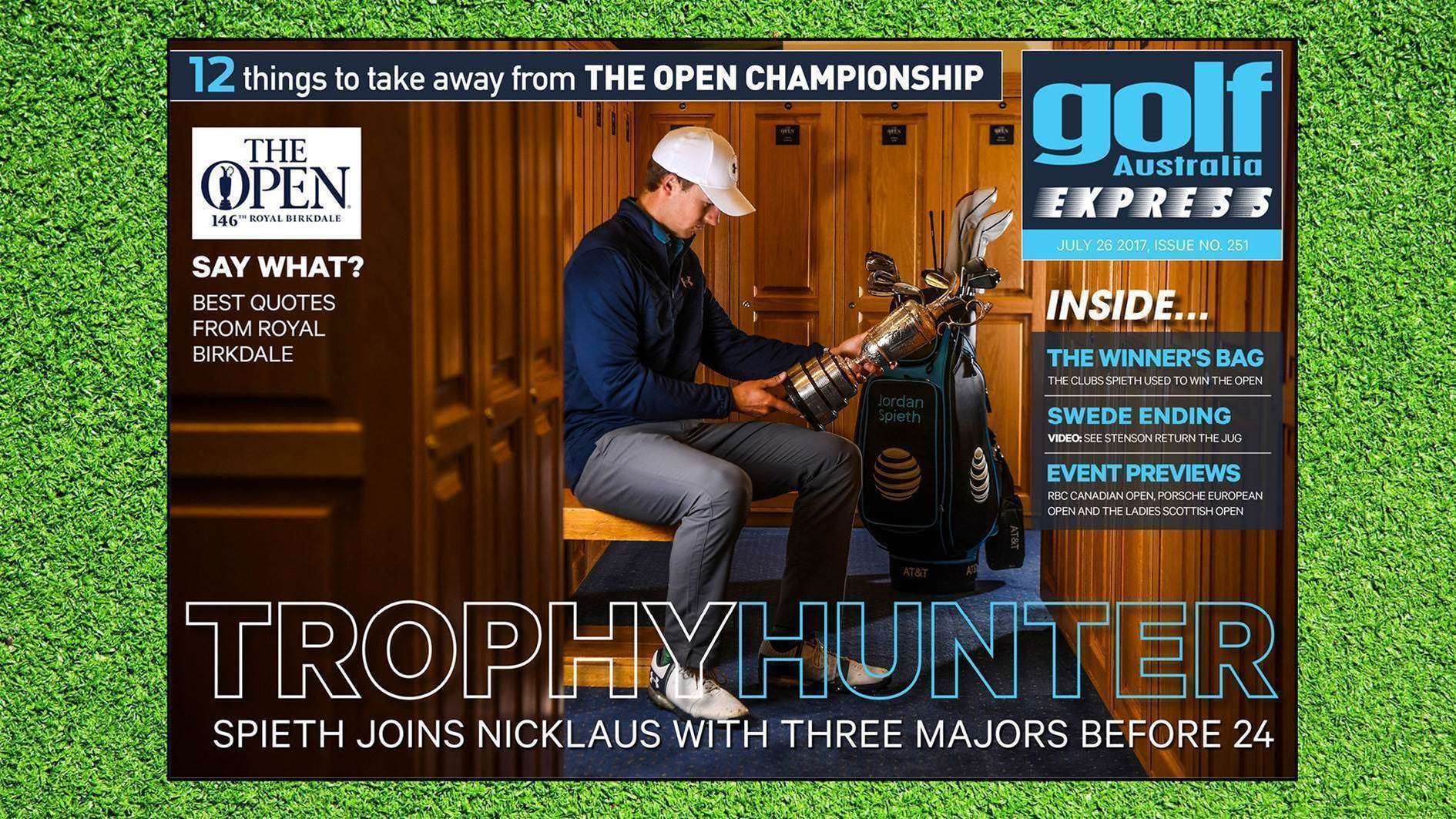 GA Express #251: Spieth claims major number three at Birkdale