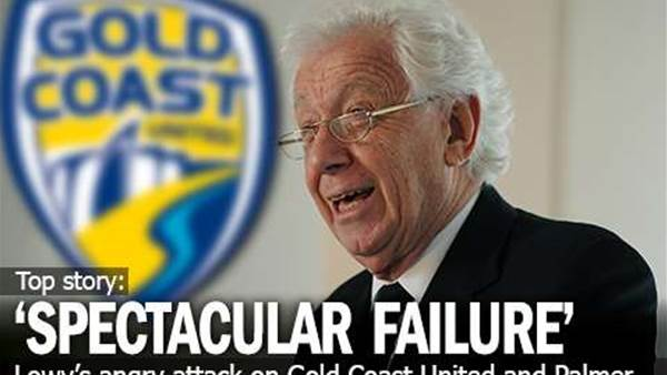 Lowy: Gold Coast A 'Spectacular Failure'