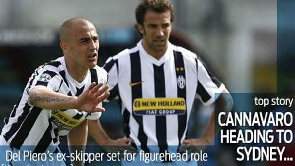 Cannavaro coming to Sydney