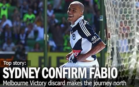 Sydney Sign Victory Discard Fabio