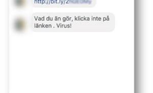 Malware spreading through Facebook Messenger