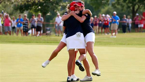 LPGA: Americans bounce back to claim Crown
