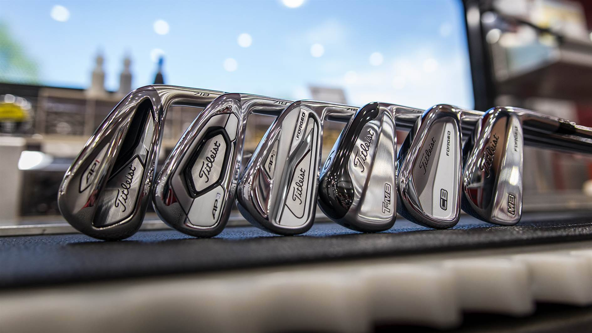 Titleist prototype 718 irons land on Tour