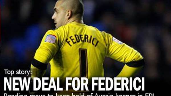 Federici Extends Reading Deal