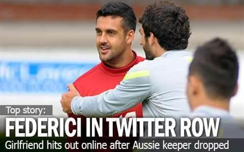 Federici's Girlfriend Sparks Twitter Drama