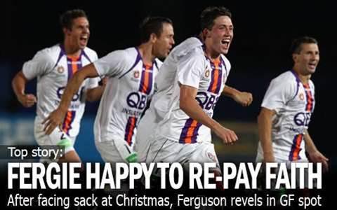 Fergie Happy To Repay Sage's Faith