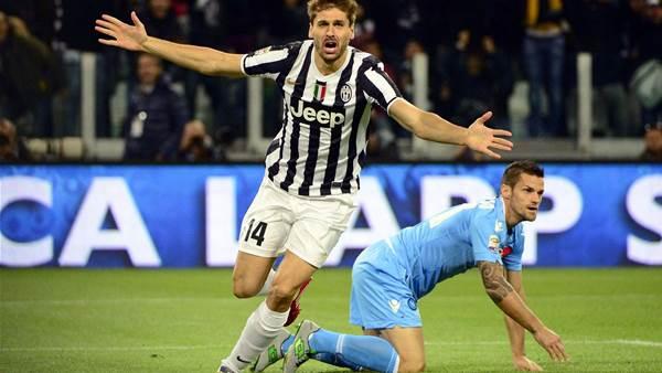 Juventus defeat Napoli 3-0