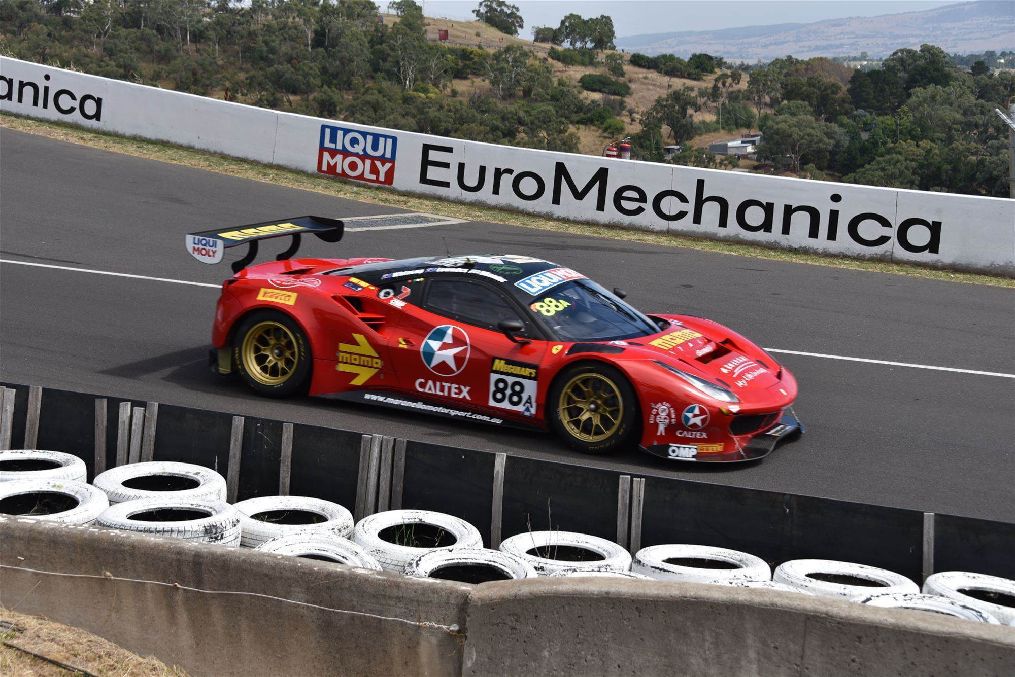 Ferrari on pole for Bathurst 12 Hour
