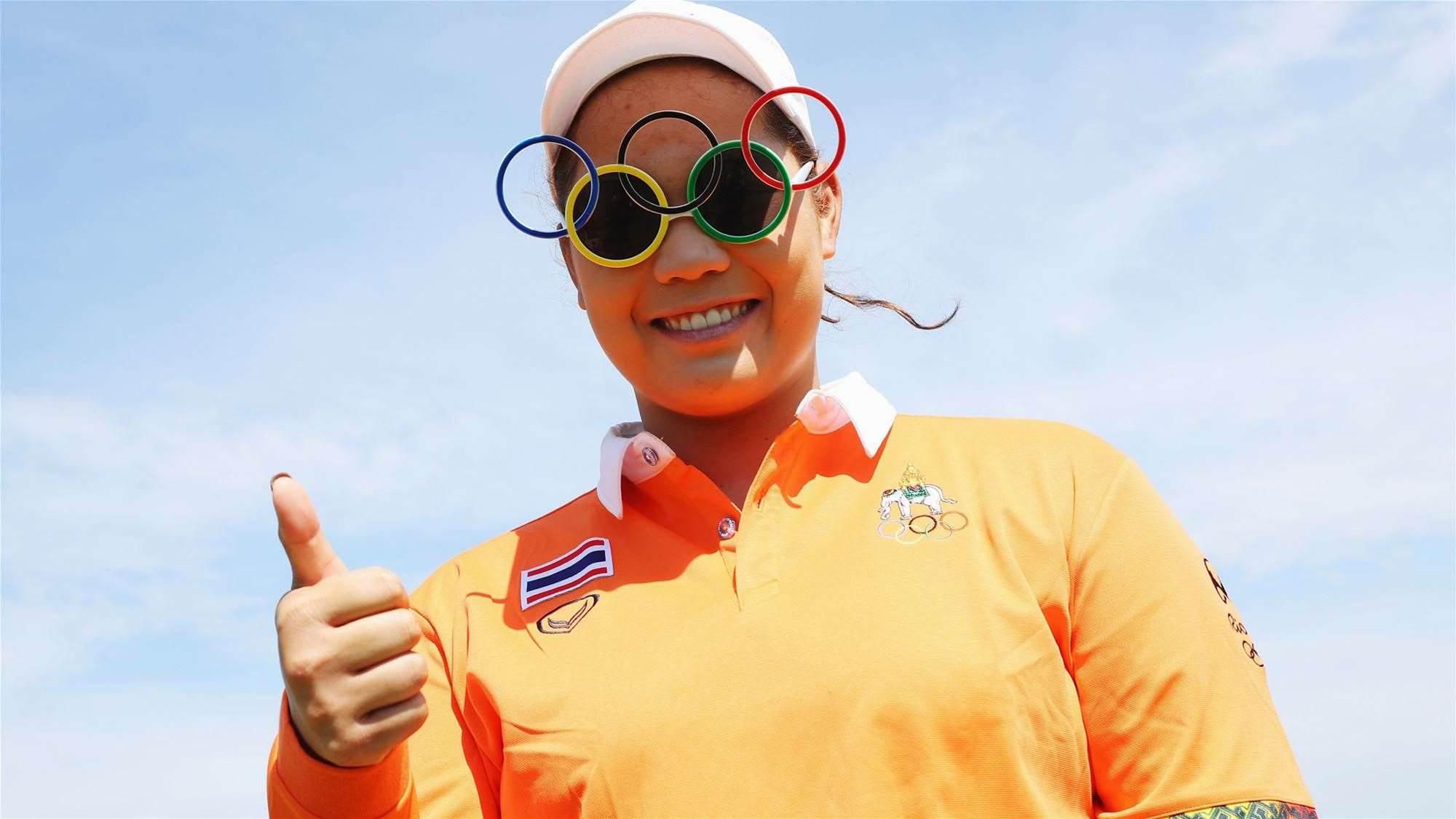 Jutanugarn puts on Olympic masterclass to lead