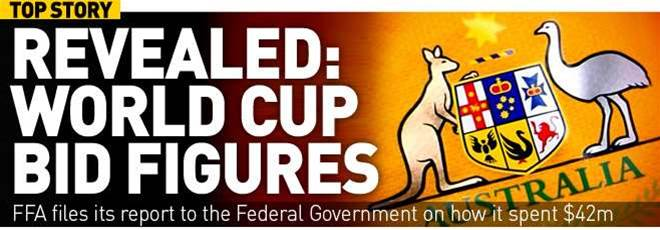 Revealed: FFA's World Cup Bid Accounts