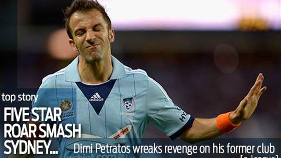 Brisbane Roar smash five past Sydney