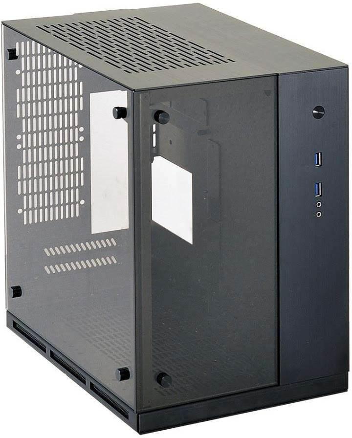 Lian Li adds tempered glass to SFF PC-Q37 PC case