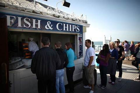 Fish and chip shops in hacker sights