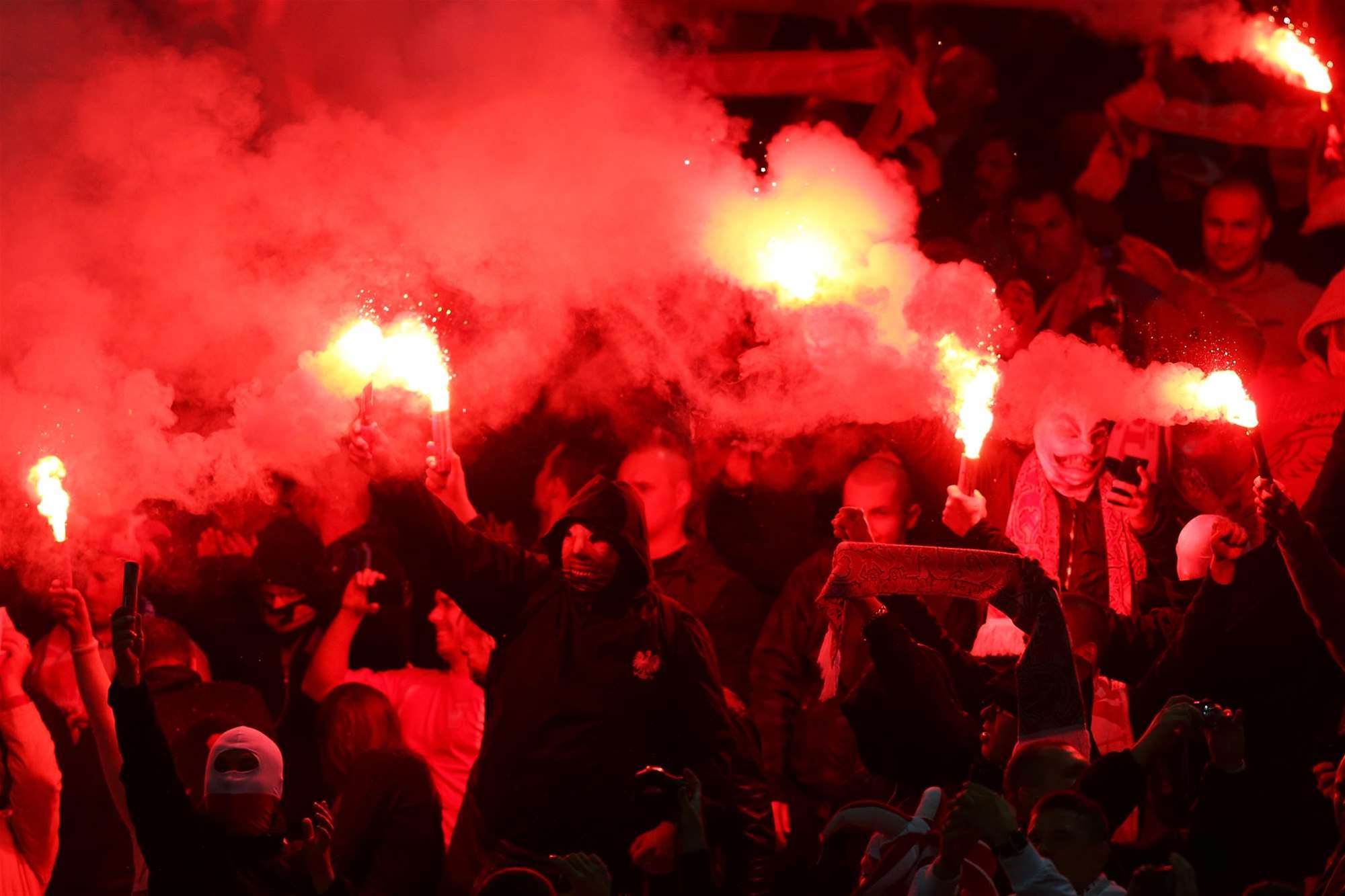 Poland, England punished for Wembley incidents
