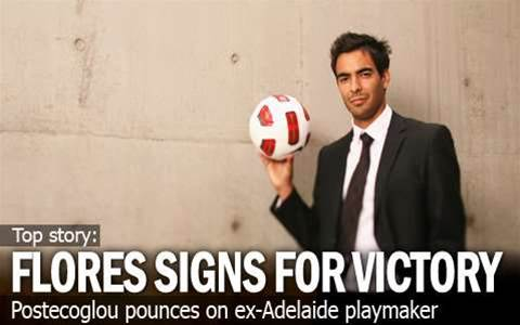 Marcos Flores Signs For Melbourne Victory