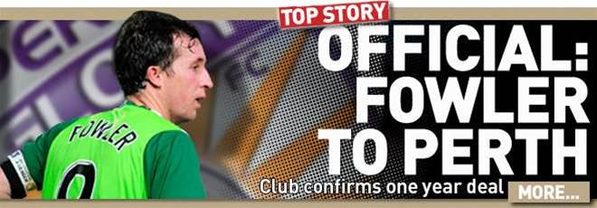 Official: Perth Glory Sign Fowler