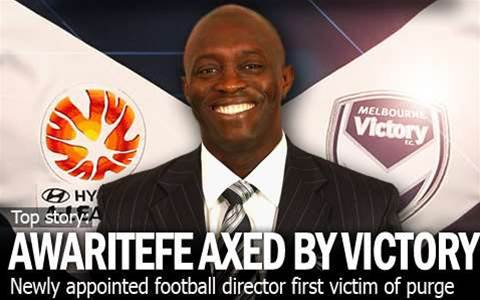 Awaritefe Axed By Melbourne Victory