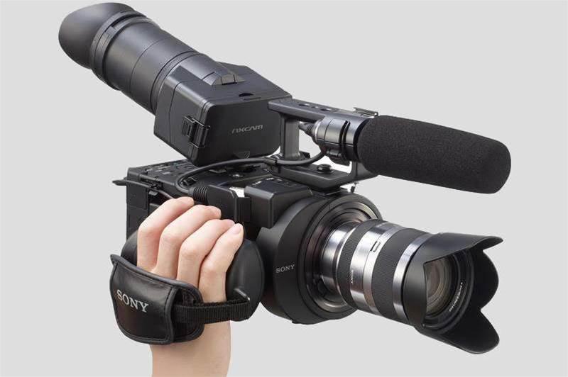 Sony NEX-FS700 4K camcorder brings super slow-mo