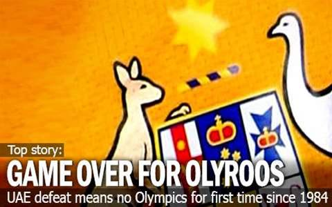Olympic Dream Over For Olyroos