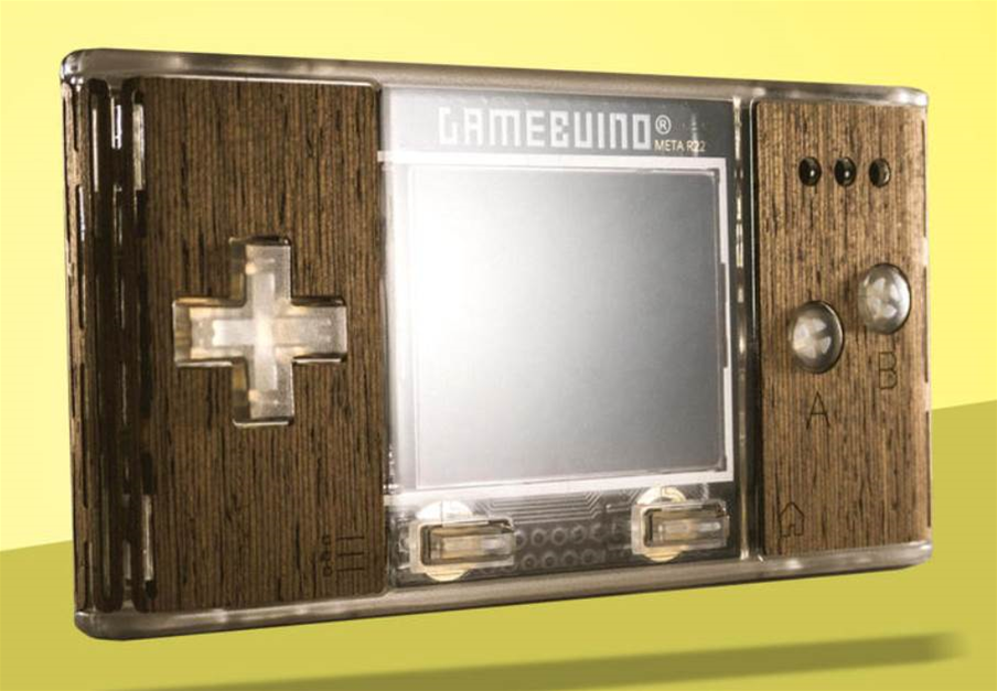 Unleash your bedroom coder with the Gamebuino META retro-gaming console