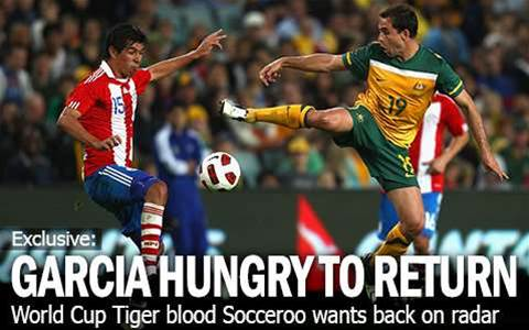 Tiger Garcia Hungry For Roo Return