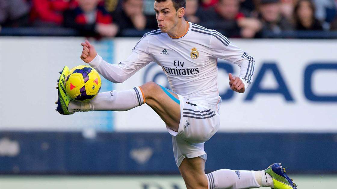 Bale: I am under less pressure at Real