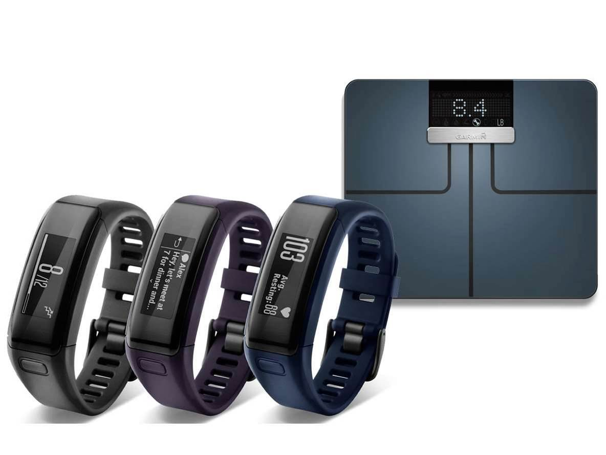 Garmin reveals new fitness tracker and smart scale
