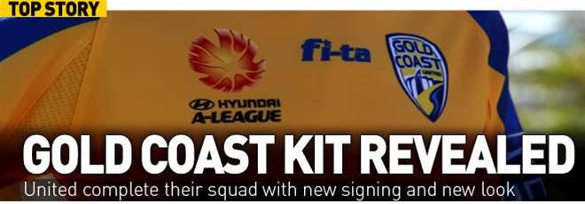 Gold Coast Launch New Kit