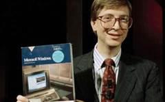 Gates trash talks iPad, boosts surface